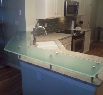 Custom Glass Counter