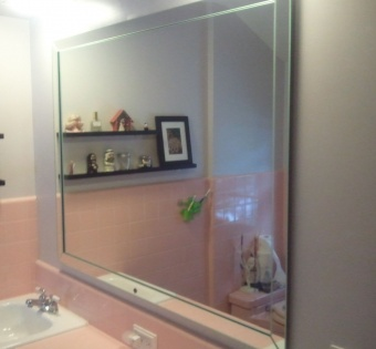 Custom Bathroom Mirror