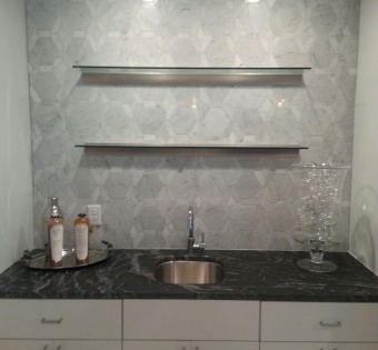 Custom Glass Shelves Minneapolis