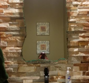Custom Glass - Custom Bathroom Mirror Minneapolis