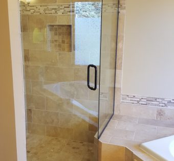 Custom Frameless Shower Enclosures Minneapolis