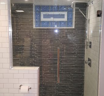 Custom Frameless Shower Enclosures Bathroom