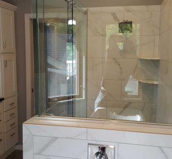 Frameless Glass Shower Custom