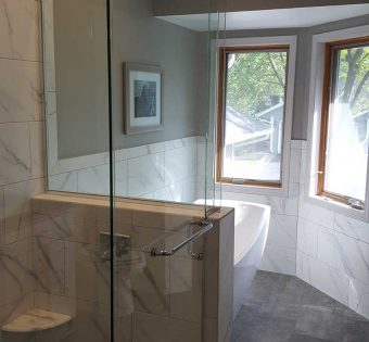 Glass Shower Enclosure Frameless
