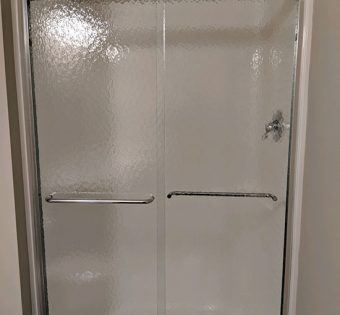 Semi-frameless Shower Stainless